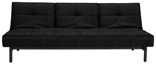 SCHLAFSOFA Webstoff Schwarz - Schwarz, Design, Holz/Textil (210/79/90cm) - Innovation
