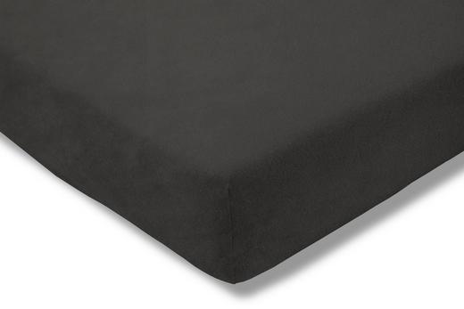 SPANNBETTTUCH Schieferfarben bügelfrei - Schieferfarben, Basics, Textil (150/200cm) - Estella