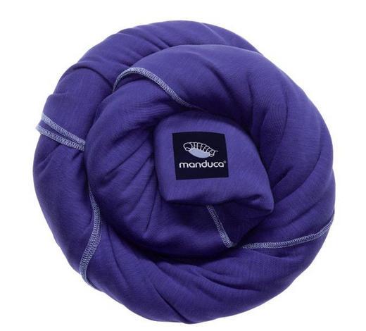 TRAGETUCH Sling  - Dunkelblau, Trend, Textil (60/510cm) - Wickelkinder Manduca