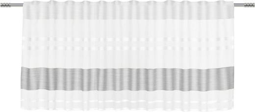 KURZGARDINE    50/135 cm - Grau, Basics, Textil (50/135cm) - Esposa
