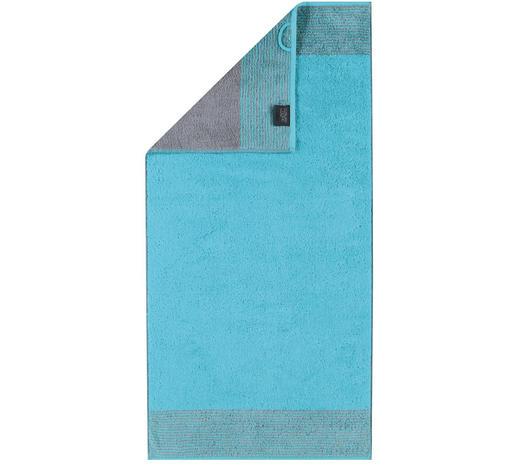 HANDTUCH 50/100 cm  - Türkis, Design, Textil (50/100cm) - Cawoe