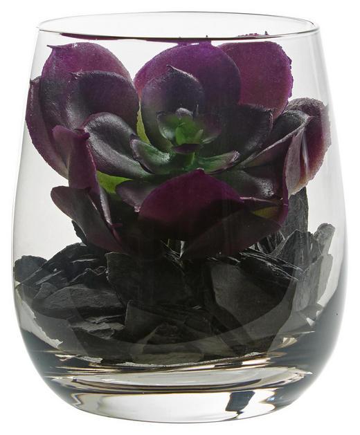 DEKOGLAS 9,7 - Grau, KONVENTIONELL, Glas/Kunststoff (8,40/9,70/8,40cm) - Leonardo