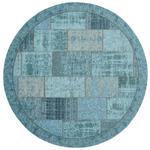 FLACHWEBETEPPICH   Türkis   - Türkis, Trend, Textil (200cm) - Novel