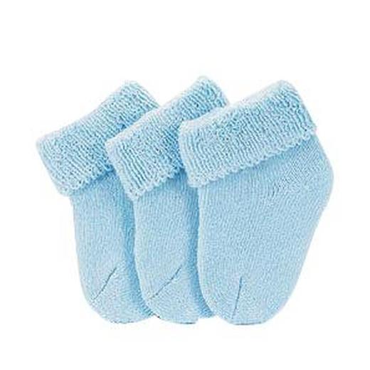 SOCKEN - Blau, Basics, Textil (18/9,50/1,50cm) - Sterntaler