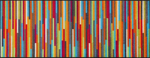 FUßMATTE 75/190 cm Graphik Multicolor - Multicolor, Basics, Kunststoff/Textil (75/190cm) - Esposa