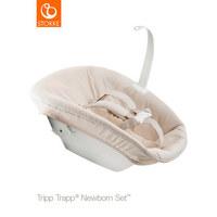 Newborn Set für Tripp Trapp - Beige/Weiß, Basics, Kunststoff/Textil - Stokke