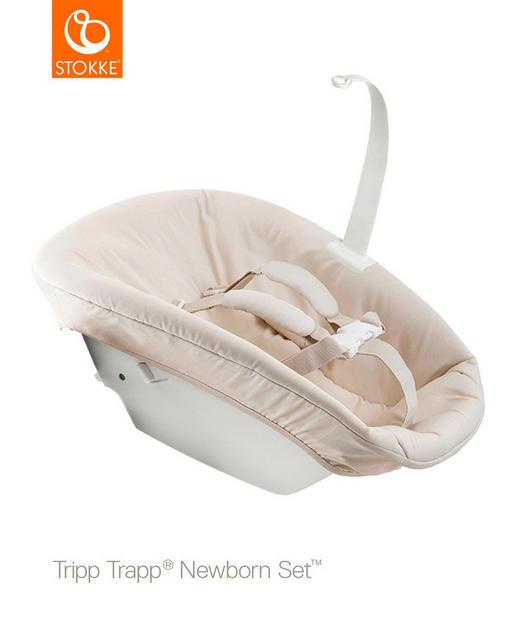Stokke Tripp Trapp Newbornset - vit/beige, Basics, textil/plast - Stokke