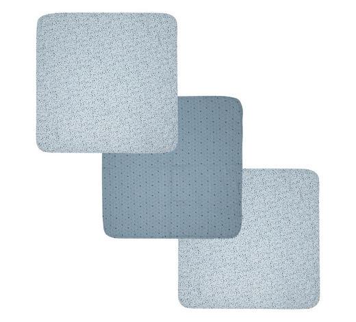 MULLWINDELN Fabulous Hero  - Blau/Schwarz, Trend, Textil (70/70cm) - Bebe Jou