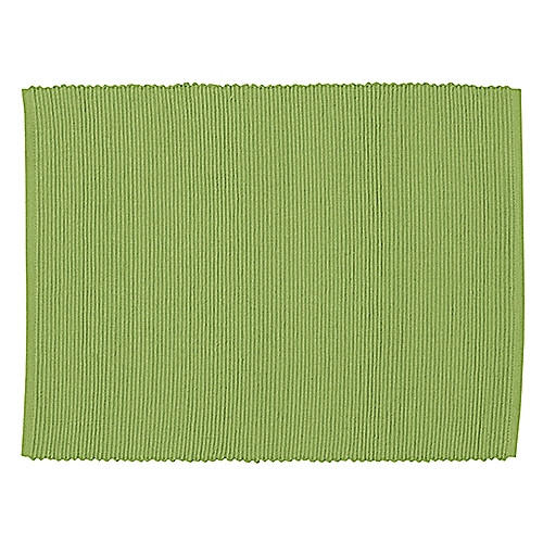 TISCHSET - Grün, Basics, Textil (35/46cm) - LINUM