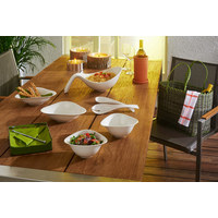 Salatset - Creme, Design, Keramik (18,8cm) - Villeroy & Boch