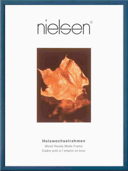 BILDERRAHMEN  Dunkelblau - Dunkelblau, Basics, Glas/Holz (10/15cm)