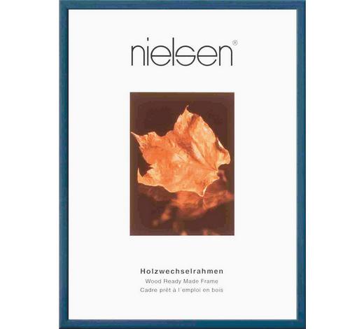 BILDERRAHMEN  Dunkelblau - Dunkelblau, Basics, Holz (24/30cm) - Nielsen