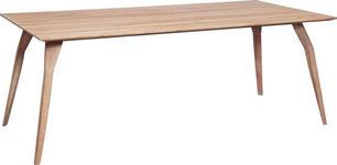 ESSTISCH in massiv Wildeiche Eichefarben - Eichefarben, Design, Holz (200/100/75cm) - Dieter Knoll
