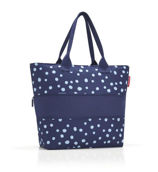 SHOPPER E1 SPOTS NAVY - Blau, Basics, Textil (50/26,5/16,5cm) - Reisenthel