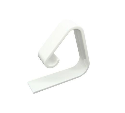 TISCHTUCHKLAMMER - Weiß, Basics, Kunststoff (5,5cm) - Fackelmann