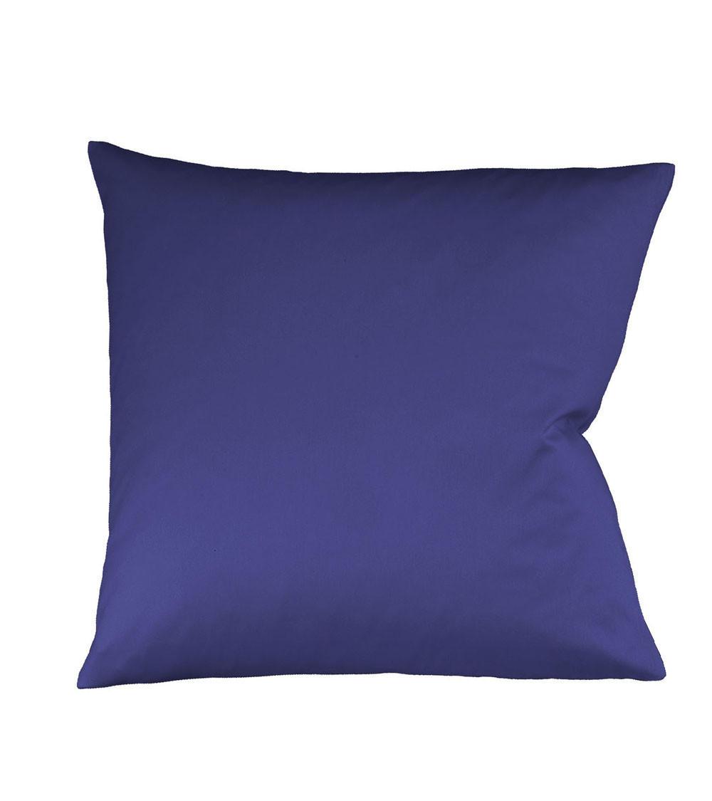 KISSENHÜLLE Blau 40/40 cm - Blau, Basics, Textil (40/40cm) - FLEURESSE