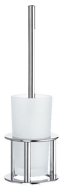 WC-BÜRSTENGARNITUR - Basics, Glas/Kunststoff (43.5/13.5/13.5cm)