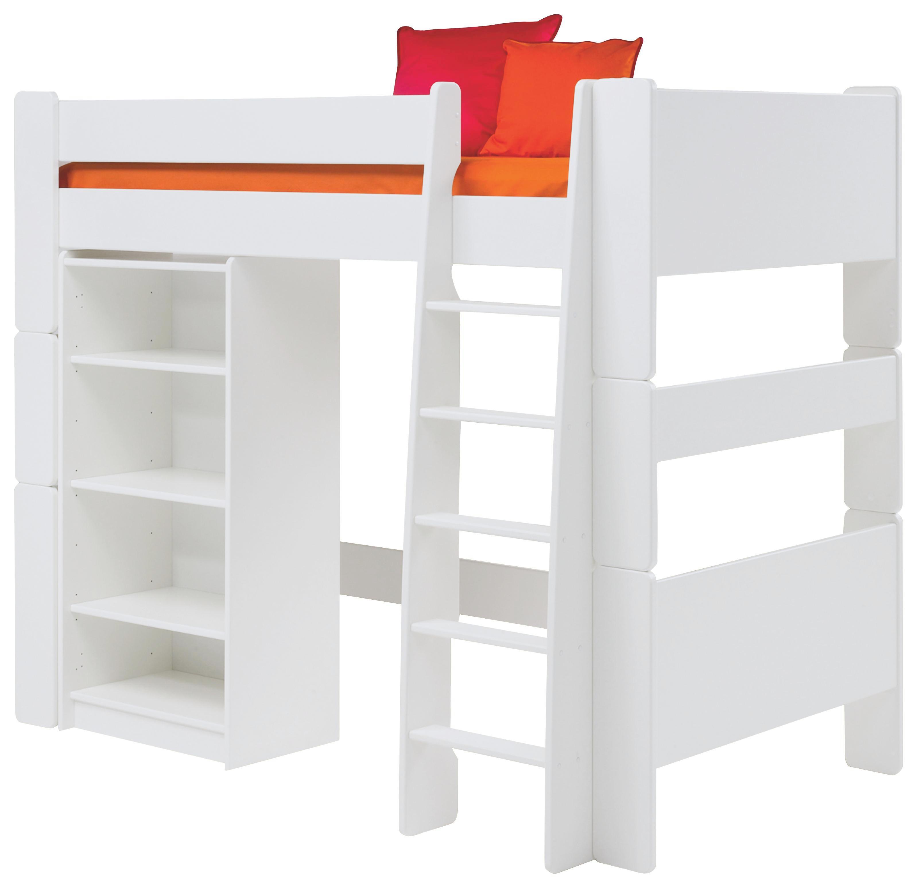 HOCHBETT Weiß - Weiß, LIFESTYLE, Holz (114/164/206cm) - CARRYHOME