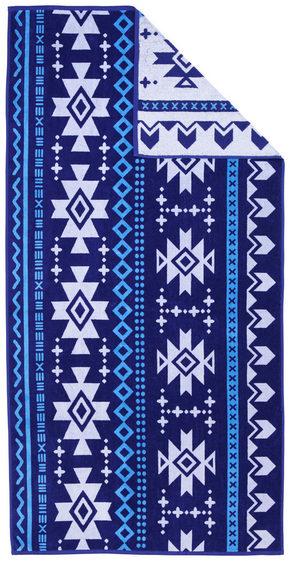 STRANDHANDDUK - blå, Klassisk, textil (90/180cm) - Esposa