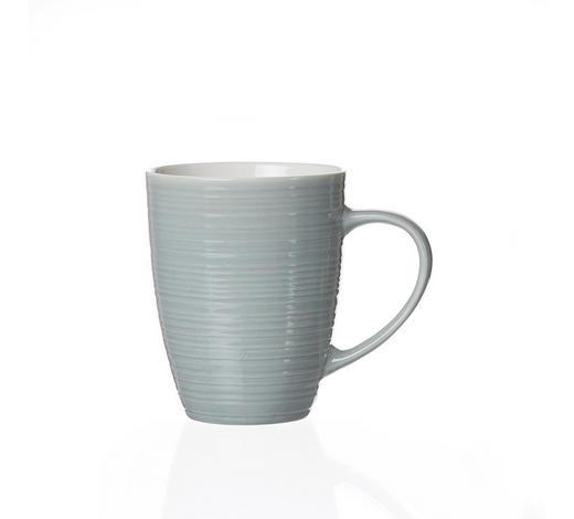 HRNEK NA KÁVU, porcelán - šedá/modrá, Basics, keramika (12/8/10cm) - Ritzenhoff Breker