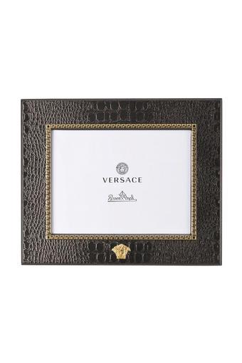 OKVIR ZA SLIKE 69077-321341 - zlata/rjava, Konvencionalno, kovina/usnje (20/20/10cm) - VERSACE