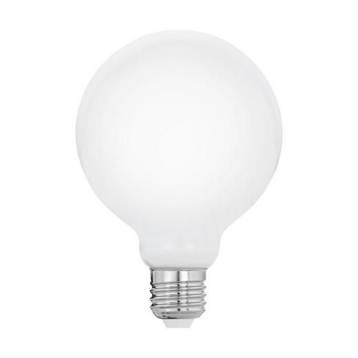 LED-Leuchtmittel E27 - Weiß, Basics, Glas (13,7  cm) - Homeware