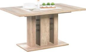 MATBORD - ekfärgad, Klassisk, träbaserade material (140(180)/90/75,5cm) - Carryhome