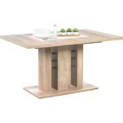 ESSTISCH in Eichefarben - Eichefarben, Design, Holzwerkstoff (140(180)/90/75,5cm) - Carryhome