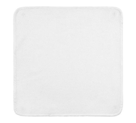 WICKELAUFLAGENBEZUG - Weiß, Basics, Textil (54/50cm) - Patinio