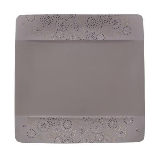 FRÜHSTÜCKSTELLER Porzellan - Grau, Design (23/23cm) - Villeroy & Boch