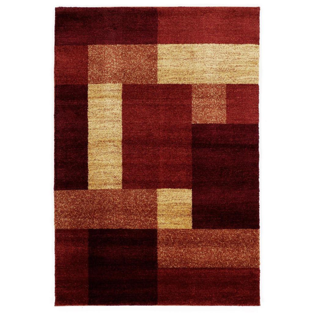 Novel Webteppich , Kupfer , Textil , Graphik , rechteckig , 65 cm , in verschiedenen Größen erhältlich , Teppiche & Böden, Teppiche, Moderne Teppiche