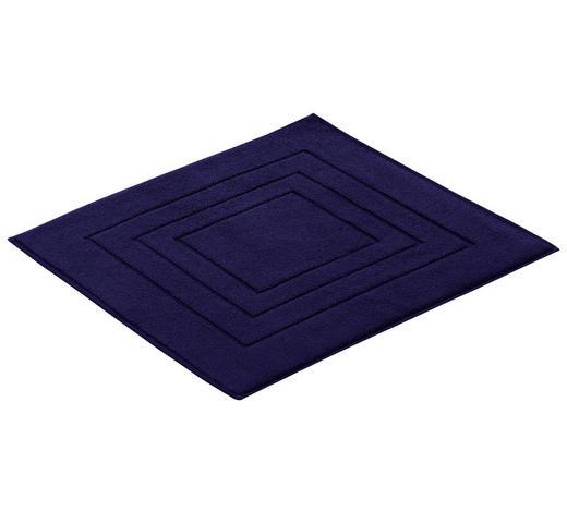 BADTEPPICH in Blau 60/60 cm - Blau, Basics, Textil (60/60cm) - Vossen