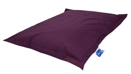 SITZSACK Aubergine - Aubergine, Design, Textil (130/170cm) - Carryhome