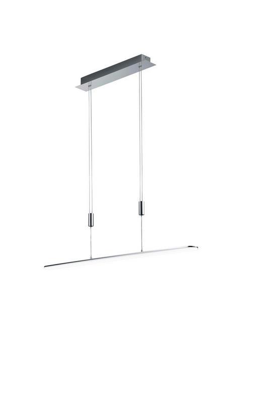 LED-HÄNGELEUCHTE - Chromfarben, Design, Metall (100cm)
