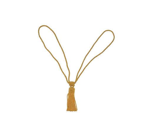 RAFFHALTER 60 cm  - Goldfarben, KONVENTIONELL, Textil (60cm) - Homeware