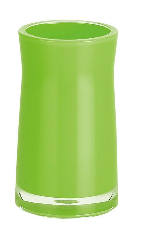 MUNDSPÜLBECHER - Hellgrün, Basics, Kunststoff (7/7/12cm) - SPIRELLA