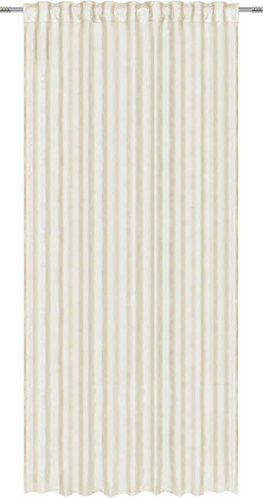 FERTIGVORHANG  blickdicht  140/245 cm - Beige, Design, Textil (140/245cm) - Esposa