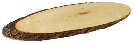 SERVIERBRETT Holz Erle  - Erlefarben/Naturfarben, LIFESTYLE, Holz (45/17/1,5cm) - Homeware