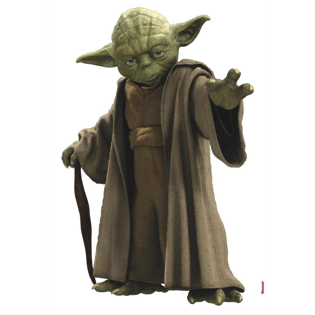 Komar Dekosticker Star Wars Yoda