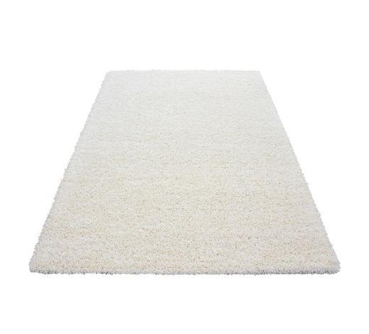 HOCHFLORTEPPICH - Creme, KONVENTIONELL, Textil (60/110cm) - Novel