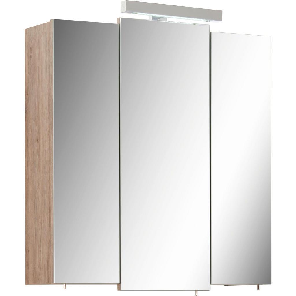 Image of Xora Spiegelschrank 68/73/20 cm , Livorno I , Metall , 68x73x20 cm , Dekorfolie , Typenauswahl , 001977002603