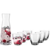 Gläserset - Klar, Konventionell, Glas - Novel