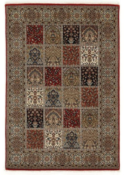 ORIENTTEPPICH  80/200 cm  Creme, Rot - Rot/Creme, Basics, Textil (80/200cm) - Esposa