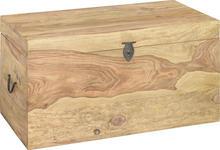 TRUHE in Holz 85/45/45 cm  - Naturfarben, LIFESTYLE, Holz (85/45/45cm) - Landscape