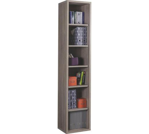 AKTENREGAL Sonoma Eiche  - Sonoma Eiche, Design, Holzwerkstoff (44/217/36cm) - Carryhome