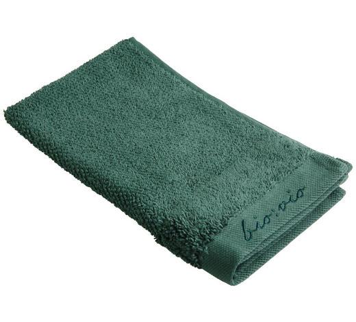 RUČNÍK PRO HOSTY, 30/50 cm, tmavě zelená - tmavě zelená, Natur, textil (30/50cm) - Bio:Vio