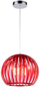SVÍTIDLO ZÁVĚSNÉ - červená, Trend, umělá hmota (30,5/150cm) - Boxxx