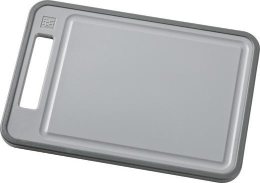 SCHNEIDEBRETT Kunststoff - Grau, Basics, Kunststoff - Zwilling