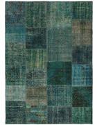 TEPPICH  90/160 cm  Blau, Grün, Türkis   - Türkis/Blau, Basics, Textil (90/160cm) - Esposa