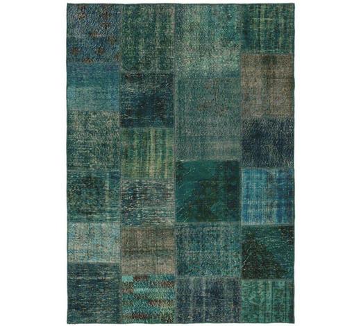 TEPPICH  170/240 cm  Blau, Grün, Türkis   - Türkis/Blau, Basics, Textil (170/240cm) - Esposa